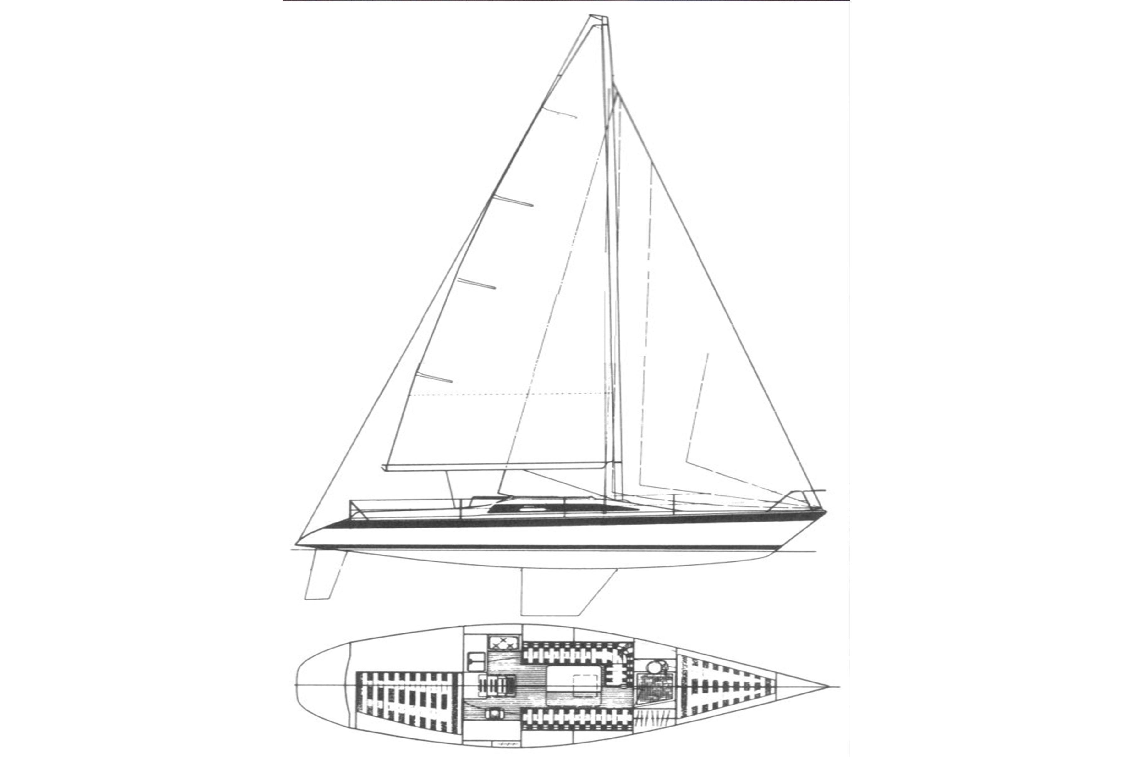 Dehler-34-plano